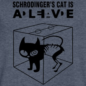 The Big Bang Theory Schrodinger s Cat - Men's V-Neck T-Shirt by Canvas