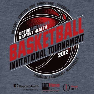 Basketball Invitational Tournament - Men's V-Neck T-Shirt by Canvas