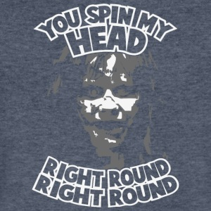 You Spin My Head Right Round - Men's V-Neck T-Shirt by Canvas