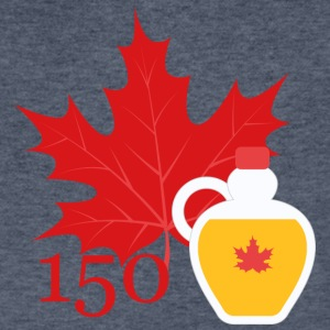 Canada 150 - Maple Syrup - Men's V-Neck T-Shirt by Canvas