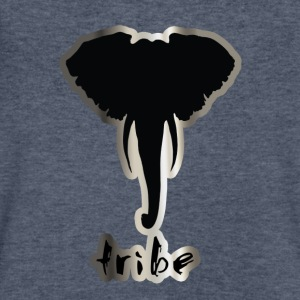 Tribe #3 (Africa, Silver & Black) - Men's V-Neck T-Shirt by Canvas