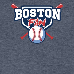 boston shirt - Men's V-Neck T-Shirt by Canvas