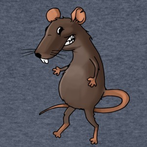 rat mice mouse guinea pig - Men's V-Neck T-Shirt by Canvas