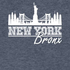 Newyork Bronx Shirt - Men's V-Neck T-Shirt by Canvas