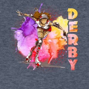 DERBY TEE SHIRT - Men's V-Neck T-Shirt by Canvas