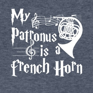 My Patronus is a French Horn Tshirt - Men's V-Neck T-Shirt by Canvas