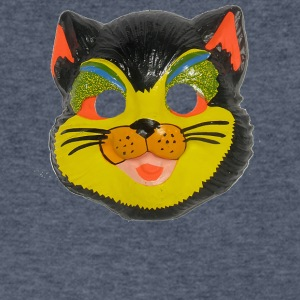 Cat Mask - Men's V-Neck T-Shirt by Canvas