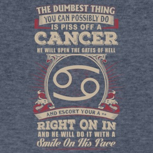 You can possibly do is piss off Cancer - Men's V-Neck T-Shirt by Canvas