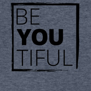 BeYouTiful - Men's V-Neck T-Shirt by Canvas
