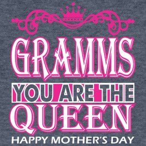 Gramms You Are The Queen Happy Mothers Day - Men's V-Neck T-Shirt by Canvas
