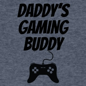 Daddy's Gaming Buddy - Men's V-Neck T-Shirt by Canvas