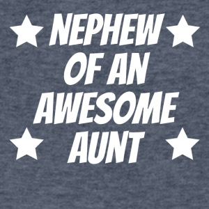 Nephew Of An Awesome Aunt - Men's V-Neck T-Shirt by Canvas
