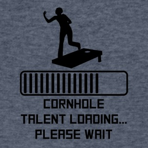 Cornhole Talent Loading - Men's V-Neck T-Shirt by Canvas