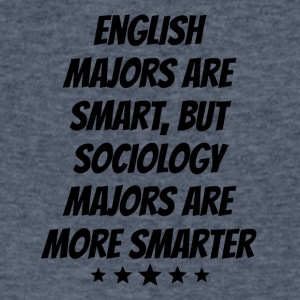 Sociology Majors Are More Smarter - Men's V-Neck T-Shirt by Canvas