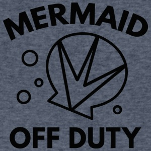 Mermaid Off Duty - Men's V-Neck T-Shirt by Canvas