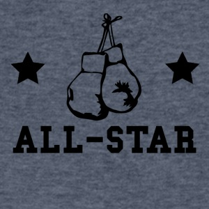 Boxing All Star - Men's V-Neck T-Shirt by Canvas