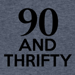 90th birthday designs - Men's V-Neck T-Shirt by Canvas