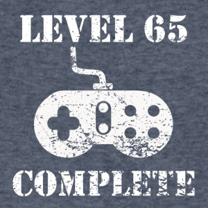 Level 65 Complete 65th Birthday - Men's V-Neck T-Shirt by Canvas