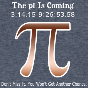 The pl is coming don t miss it you won t get anoth - Men's V-Neck T-Shirt by Canvas
