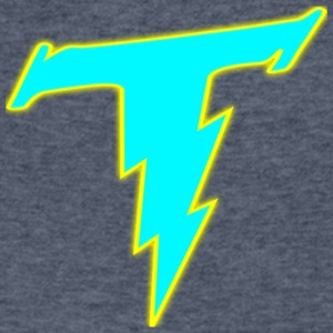 Thunder Pals Logo - Men's V-Neck T-Shirt by Canvas