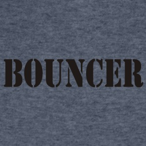 bouncer back front - Men's V-Neck T-Shirt by Canvas
