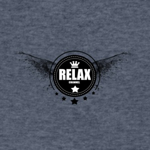 RELAX - Men's V-Neck T-Shirt by Canvas
