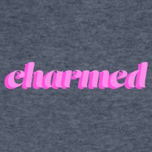 Charmed Typography - Men's V-Neck T-Shirt by Canvas