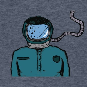 Astrohead - Men's V-Neck T-Shirt by Canvas