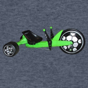 GREEN MACHINE - Men's V-Neck T-Shirt by Canvas