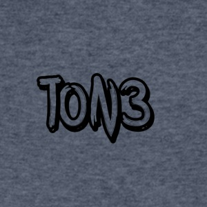 ton3 black - Men's V-Neck T-Shirt by Canvas