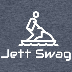 Jett Swag Jet Ski - Men's V-Neck T-Shirt by Canvas