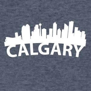 Arc Skyline Of Calgary Alberta Canada - Men's V-Neck T-Shirt by Canvas