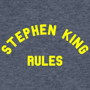 Stephen King Rules vectorized - Men's V-Neck T-Shirt by Canvas