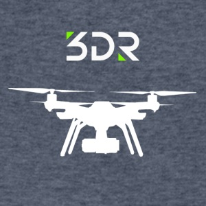 3DR DRONE SOLO2 - Men's V-Neck T-Shirt by Canvas