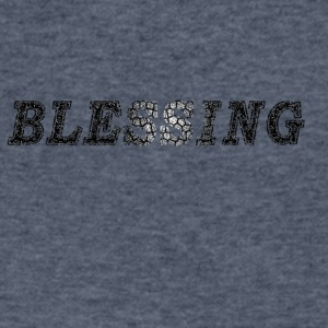 blessing - Men's V-Neck T-Shirt by Canvas