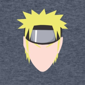 ANIME NARUTO PRINT [LEVBO] - Men's V-Neck T-Shirt by Canvas