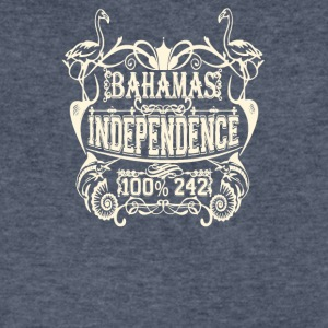 Bahamas independence - Men's V-Neck T-Shirt by Canvas