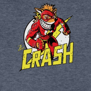 THE CRASH - Men's V-Neck T-Shirt by Canvas
