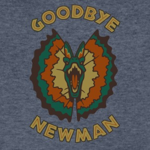 Goodbye, Newman - Men's V-Neck T-Shirt by Canvas