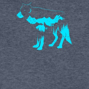 Mystic Wolf - Men's V-Neck T-Shirt by Canvas