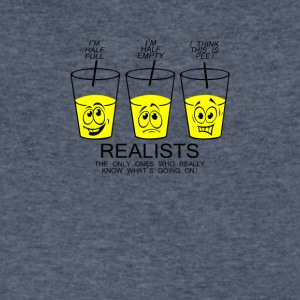 Realist cup - Men's V-Neck T-Shirt by Canvas