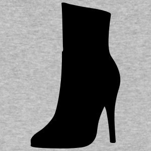 Vector highheels Silhouette - Men's V-Neck T-Shirt by Canvas