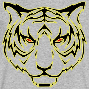 Tiger head - Men's V-Neck T-Shirt by Canvas