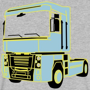 Magnum Truck - Men's V-Neck T-Shirt by Canvas