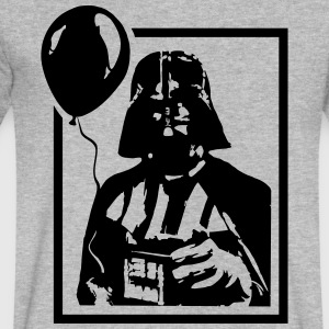 Vader Balloon - Men's V-Neck T-Shirt by Canvas
