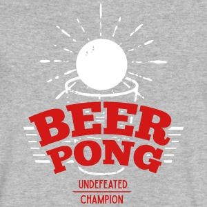 Beer Pong Champion - Logo - Emblem - Men's V-Neck T-Shirt by Canvas