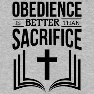 Obedience - Men's V-Neck T-Shirt by Canvas