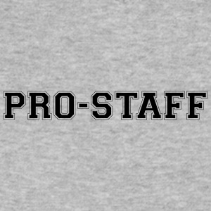Pro Staff Wordmark - Men's V-Neck T-Shirt by Canvas