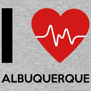 I Love Albuquerque - Men's V-Neck T-Shirt by Canvas
