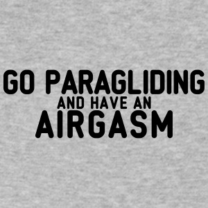 airgasm paragliding - Men's V-Neck T-Shirt by Canvas